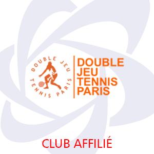 Logo Double Jeu Tennis Paris