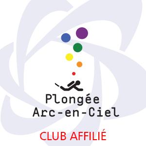 Logo Plongée Arc En Ciel